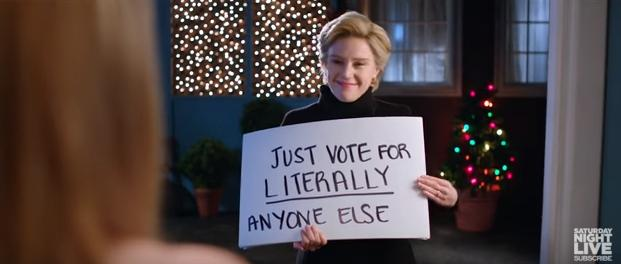 In Case You Missed It: SNL's Hillary Clinton Woos Faithless Electors With 'Love Actually' Parody