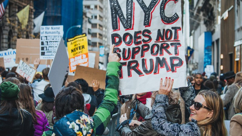#NotMyPresident More than Enough to Unify Trump Opposition