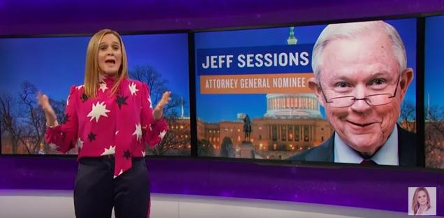 In Case You Missed It: Sam Bee Explains Why Jeff Sessions Shouldn't Be Attorney General