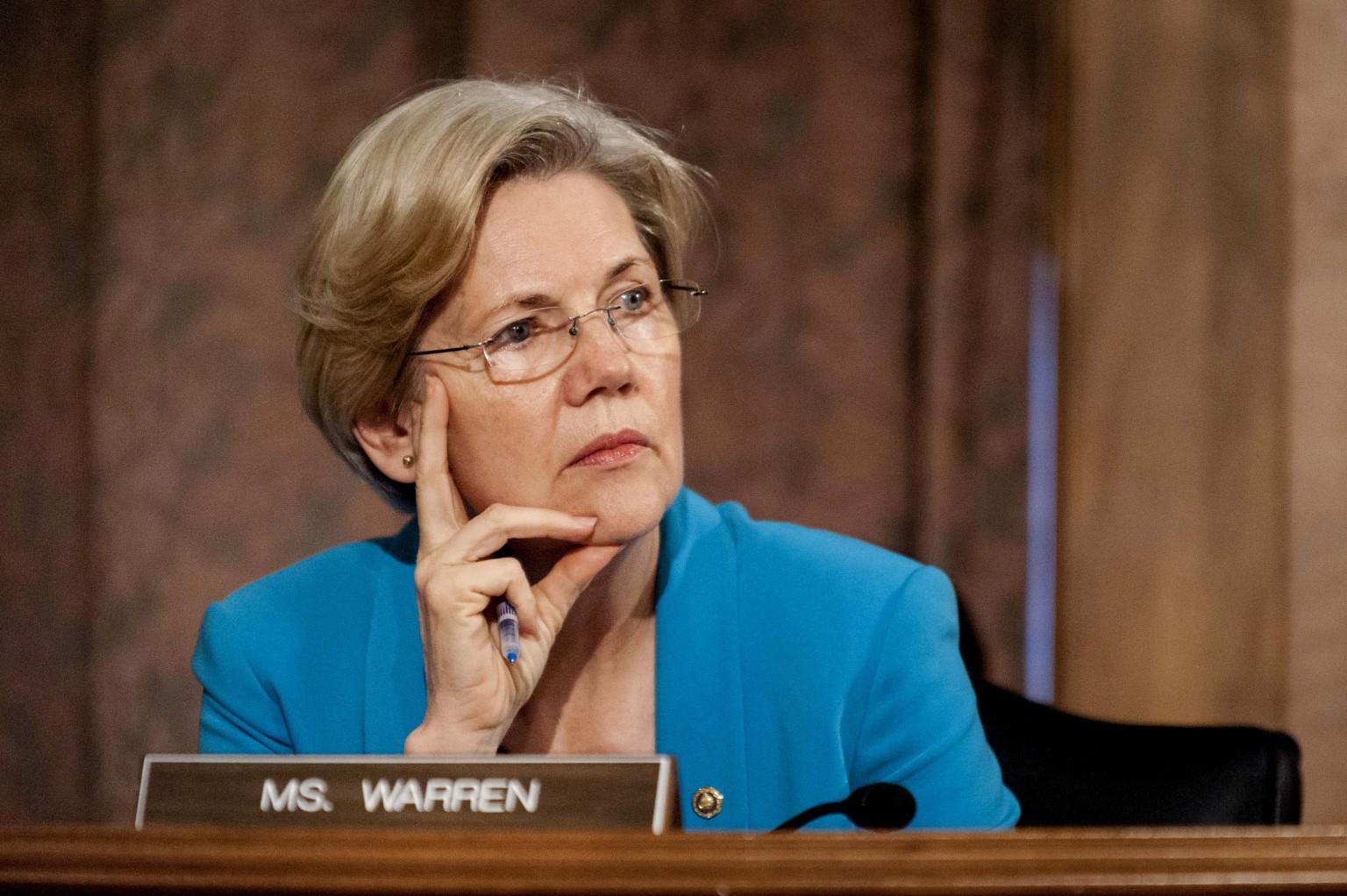 Elizabeth Warren Attacks Trump And GOP For 'Gutting' Ethics
