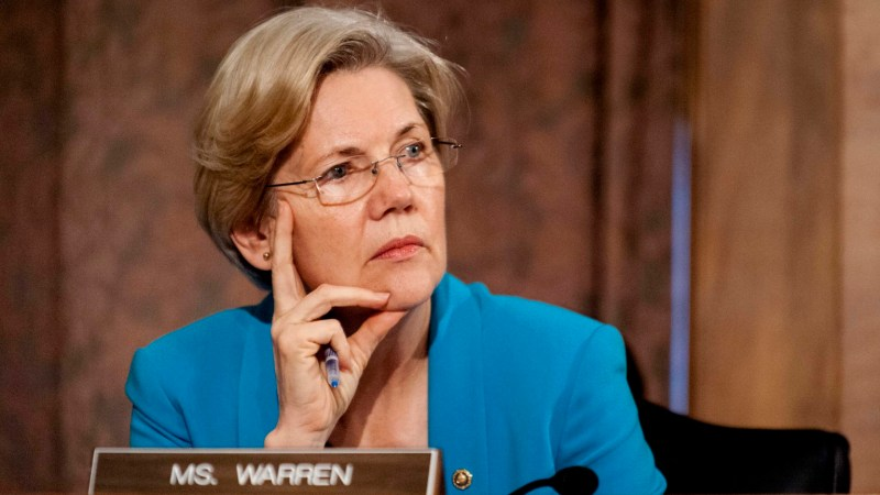 Elizabeth Warren Attacks Trump And GOP For 'Gutting' Ethics