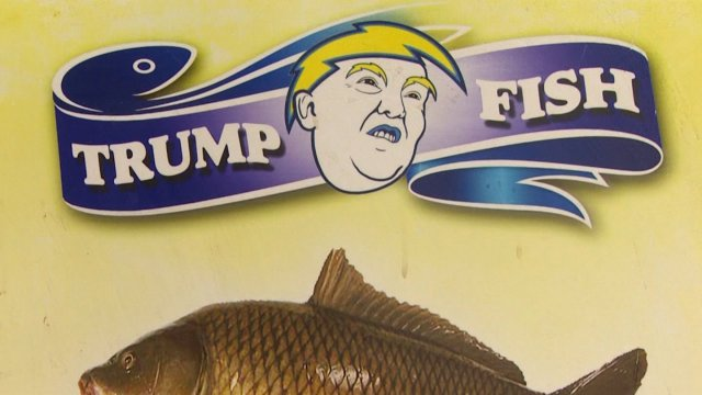 There's A New Donald Trump Fish Restaurant – In Northern Iraq