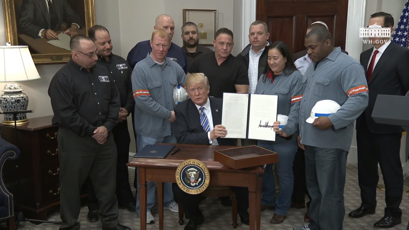 Trump's Tariffs Squashed 40 Years Of GOP Ideology