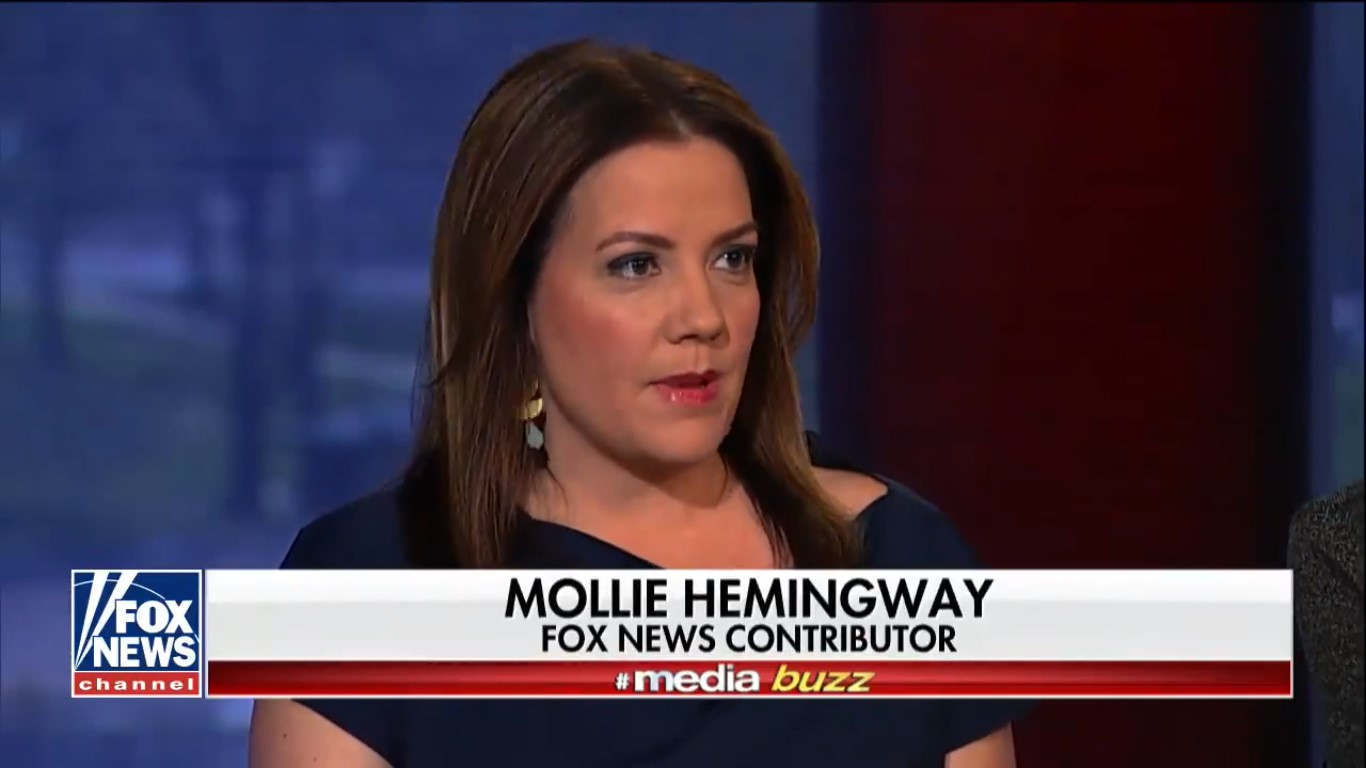 Fox News' Mollie Hemingway Can't Decide Whether Comey's Memos Reveal Nothing Or Huge Setup