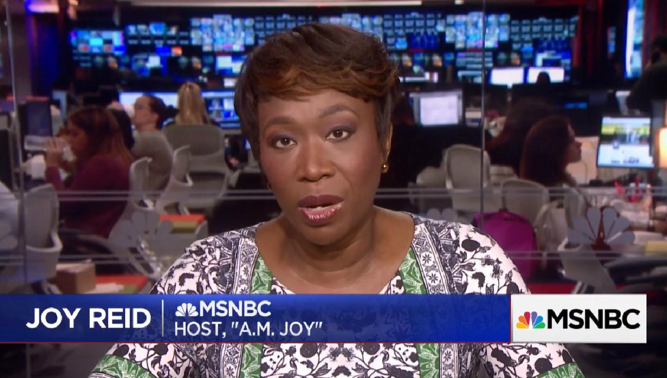 Joy Reid Still Scheduled To Host Her MSNBC Shows This Weekend