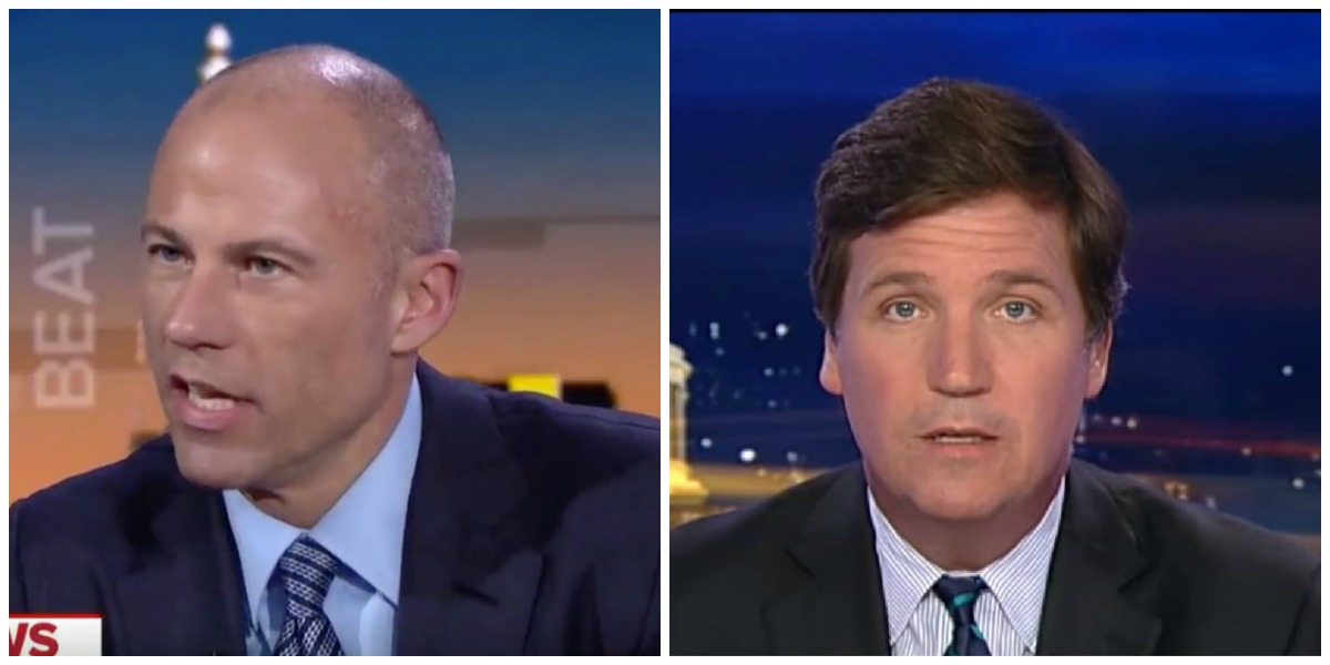 Avenatti Accuses Tucker Of Lying About Alleged Assault At Country Club: 'You Were The Aggressor'