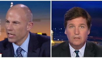 michael avenatti claps back at mop hair tucker carlson what are