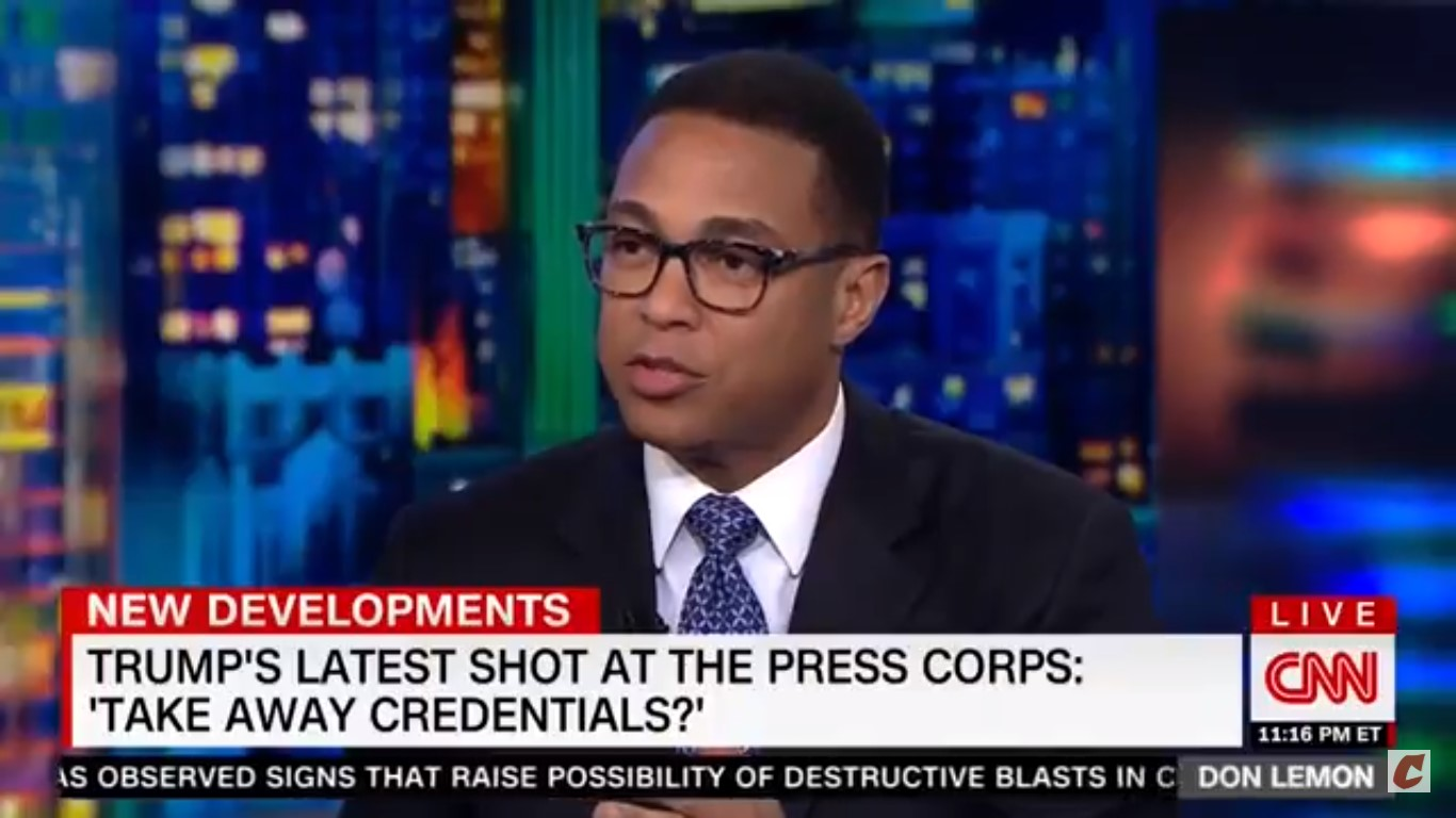 Don Lemon Questions Whether Networks Should Air White House Press Briefings: 'It's Become Theater'