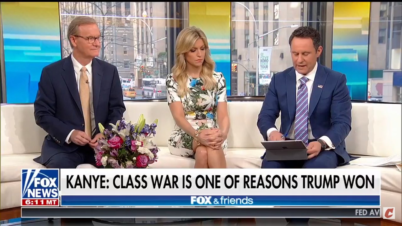 Fox's Brian Kilmeade Promotes Fake Harriet Tubman Quote That Kanye West Tweeted Out