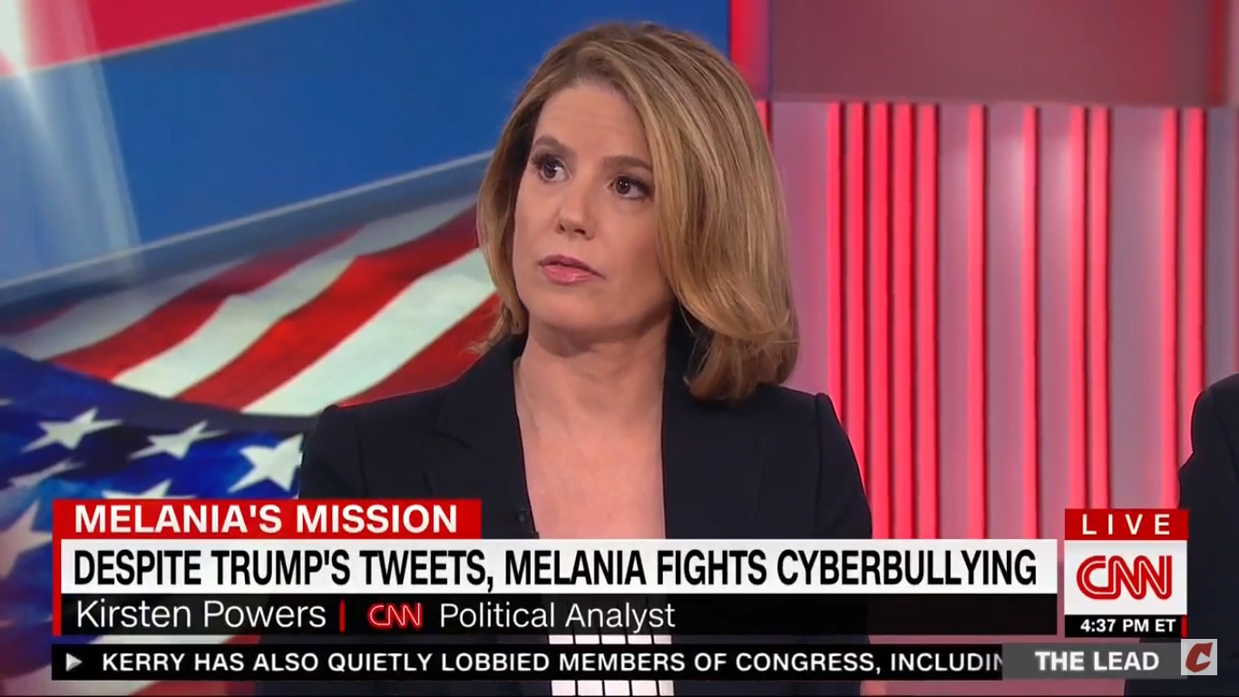 CNN's Kirsten Powers: Is Melania Fighting Cyberbullying 'Meant To Drive Us Crazy?'