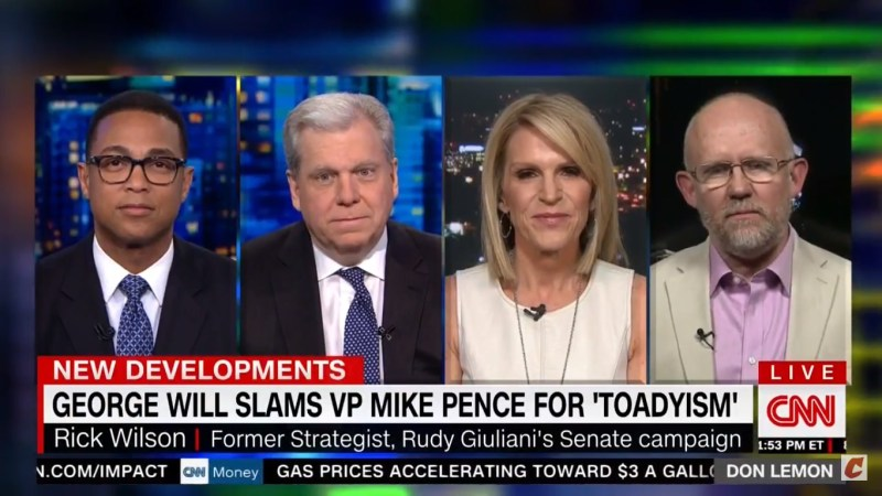 Rick Wilson On George Will's Takedown Of Mike Pence: He Can 'Cut A Bitch When He Wants To'