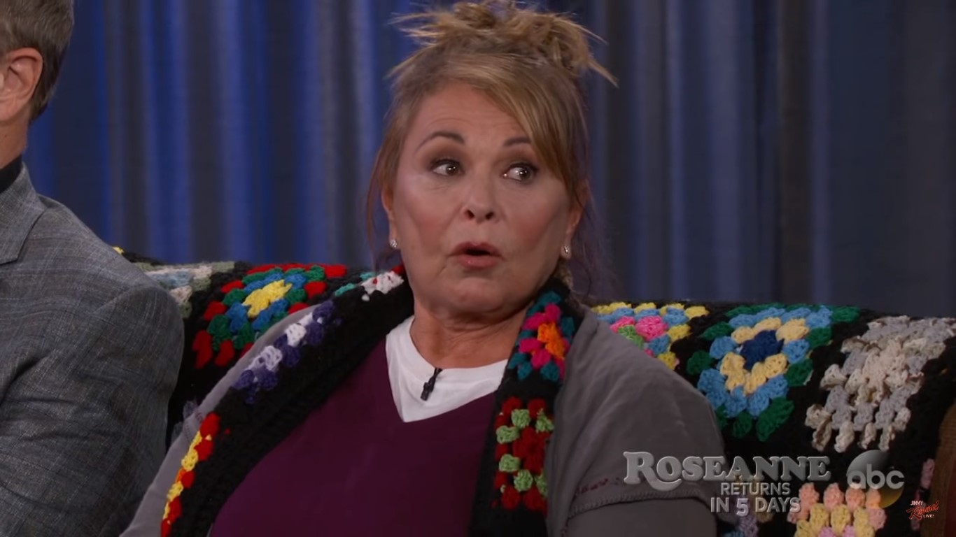 Roseanne Barr Goes Full Racist While Attacking Former Obama Advisor Valerie Jarrett