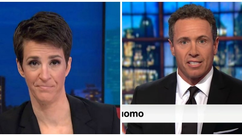 Maddow Tops Key Demo On Monday, Cuomo Leads CNN In Viewers And Demo In Debut