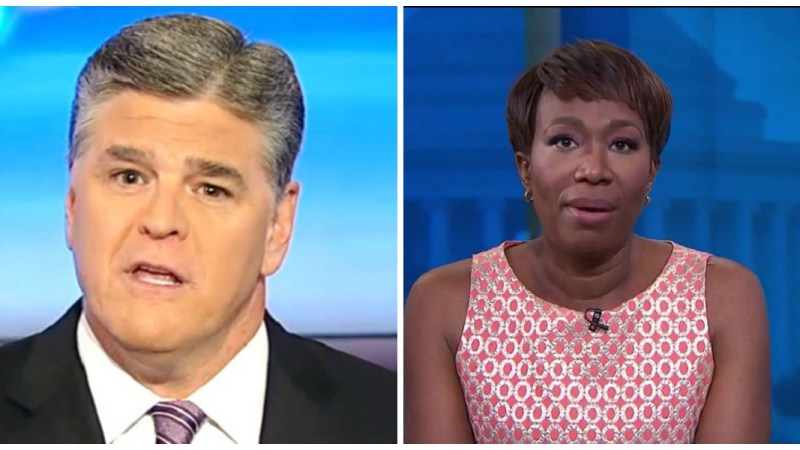 Hannity Backs Joy Reid: 'Her Apology Should Be Accepted' And She Shouldn't Be Fired