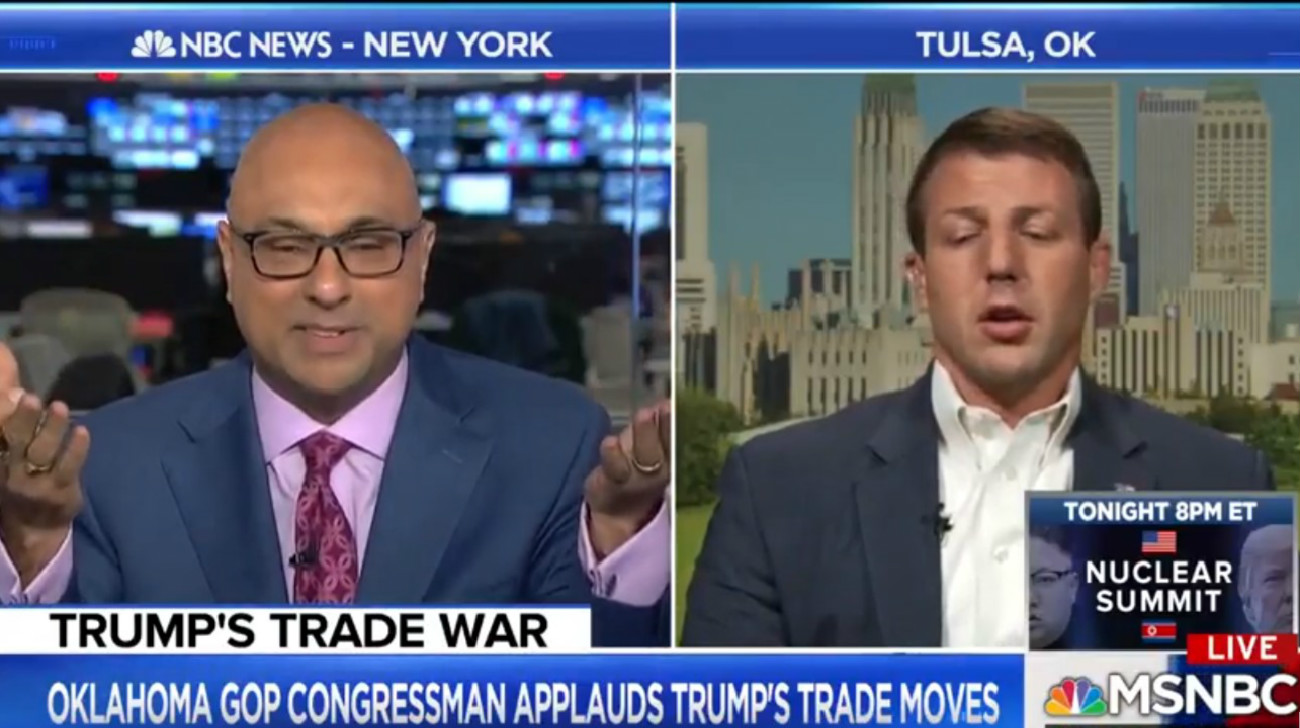 MSNBC's Ali Velshi Mauls GOP Rep During Trade Discussion: 'You're Making Up Facts In Front Of Me'