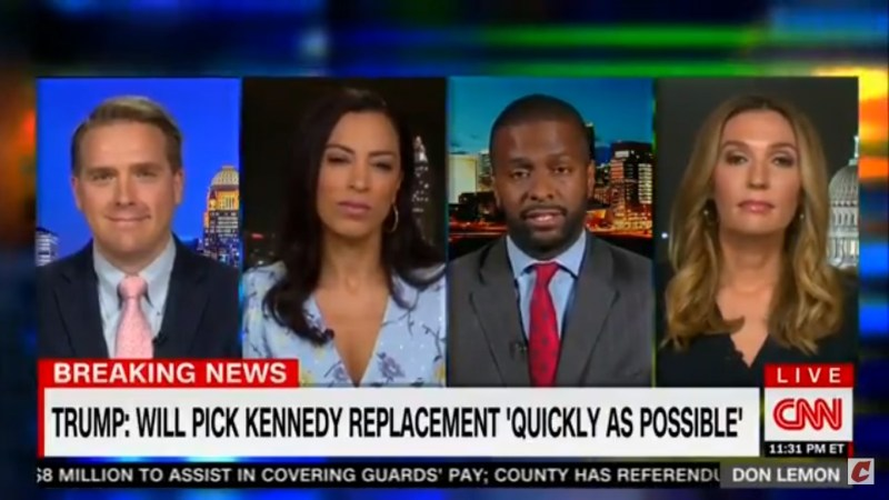 CNN's Bakari Sellers Blows Up Over Kennedy Retirement: 'I'm Pissed Off With Bernie Sanders'