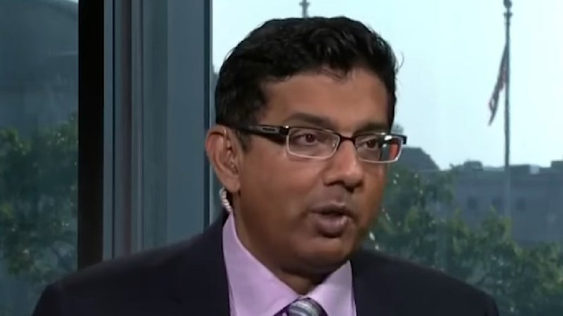 Dinesh D'Souza Retweets Post That Says #BurnTheJews, Claims He 'Did Not See The Hashtag'
