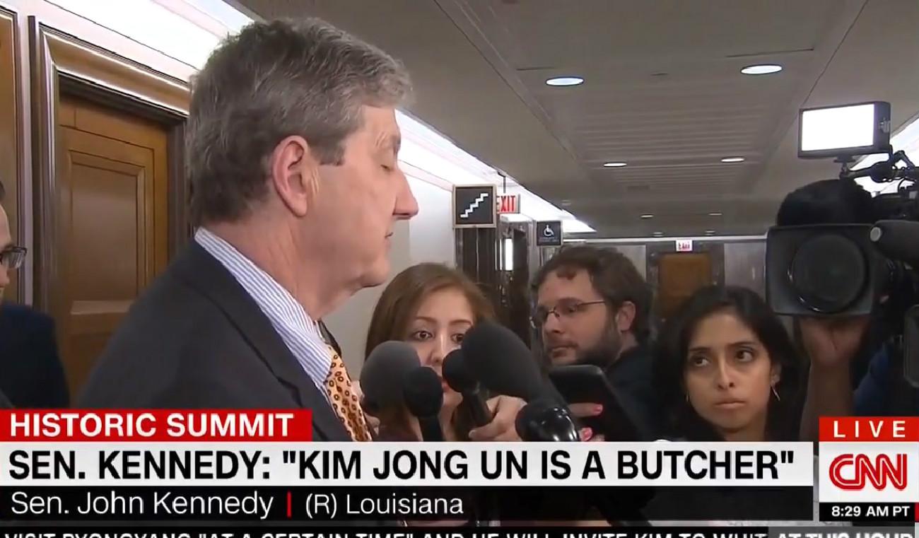 GOP Senator: Kim Jong Un's A 'Butcher' And Reasoning With Him Is Like Hand-Feeding A Shark
