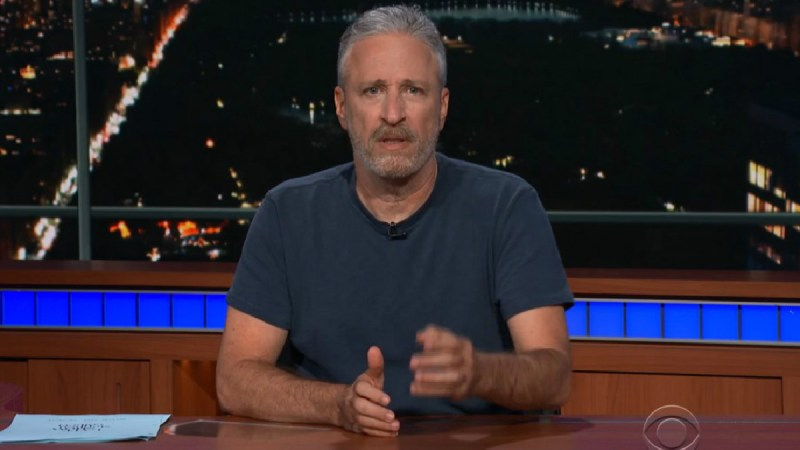 Jon Stewart Calls On Americans To 'Prevail' Against Trump's 'Gleeful Cruelty And Dickishness'