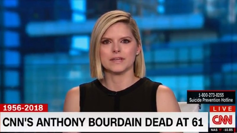 CNN's Kate Bolduan Breaks Down Talking About Beloved Colleague Anthony Bourdain