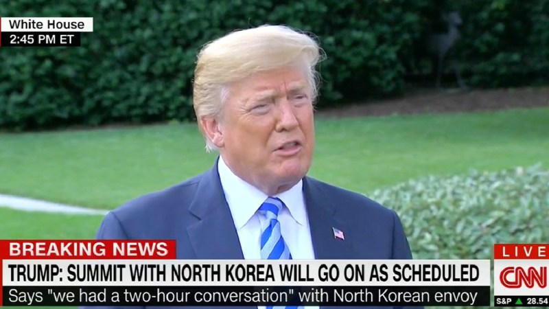Trump Brags About 'Very Nice Letter' From Kim Jong Un, Then Admits He Hasn't Read It Yet