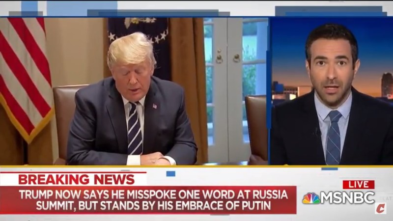 Ari Melber On Trump's 'Double Negative' Excuse: 'If That Sounds Stupid, It's Because It Is Stupid'
