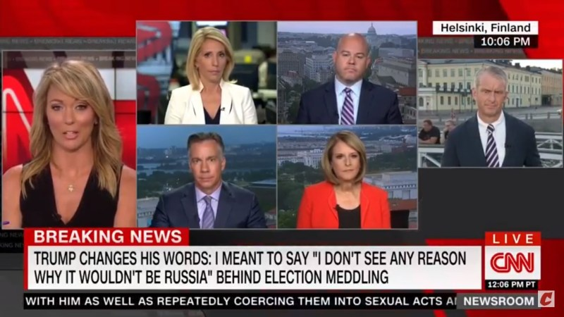 Brooke Baldwin After Trump's 'Double Negative' Walk-Back: 'Three Little Words. This. Is. Ridiculous.'