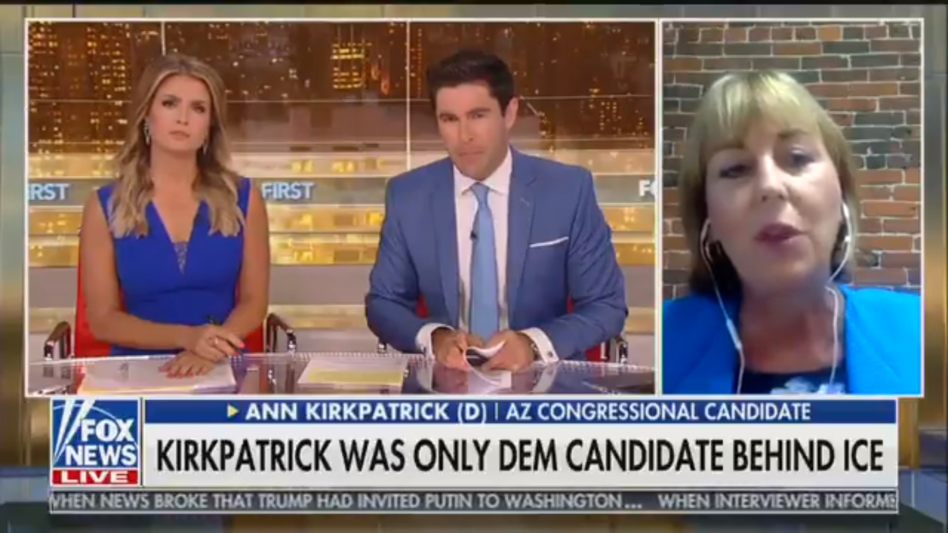 Fox News Thought They Booked Pro-ICE Democrat, Gets Fiery Anti-Trump Candidate Instead