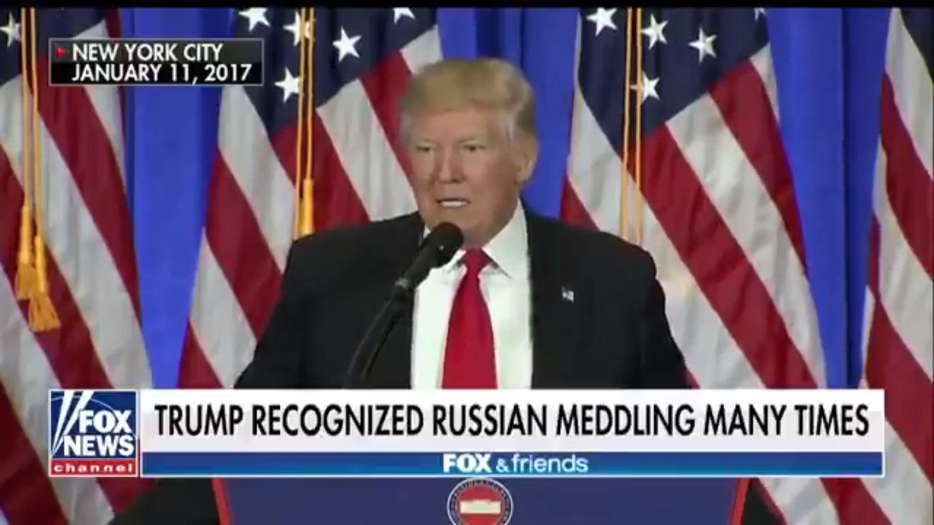 Media Pans Fox And Friends' Attempt To Prove Trump Has Constantly Called Out Russian Interference