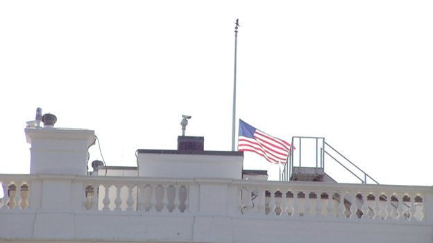 Amid Bad Press, Trump Changes Mind And Orders Flags At Half-Staff For Capital Gazette Victims