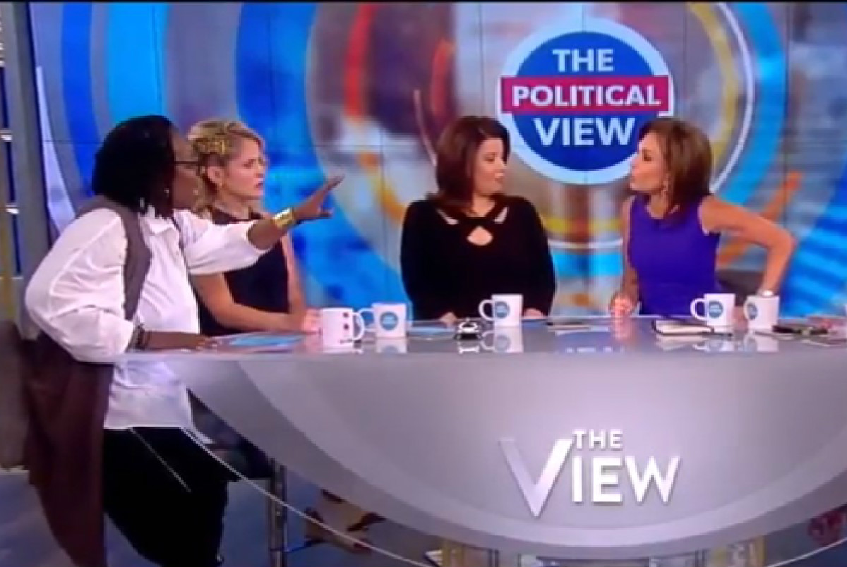 'Say Goodbye! I'm Done!' The View's Whoopi Goldberg Loses Her Cool With Judge Jeanine Pirro