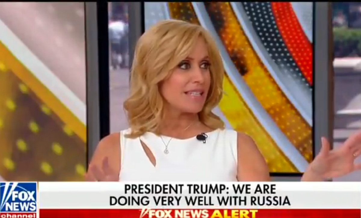 Fox's Melissa Francis In Disbelief After Trump Says Russia's No Longer Targeting US: 'It Sounds Insane'