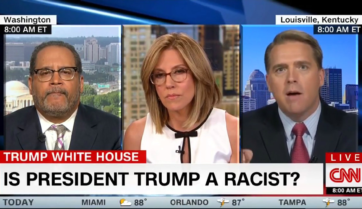 Michael Eric Dyson Accuses Conservative CNN Pundit Of Being 'Complicit In Racism': 'Find Your Spine!'
