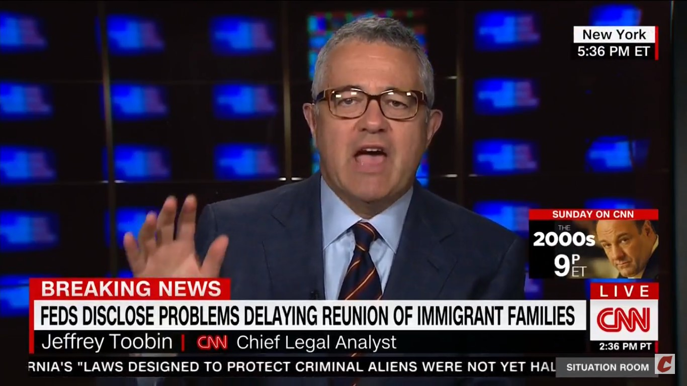 CNN's Toobin Blasts Trump For Saying Maxine Waters' IQ Is In The 'Mid-60s': 'How Racist Is That?!'