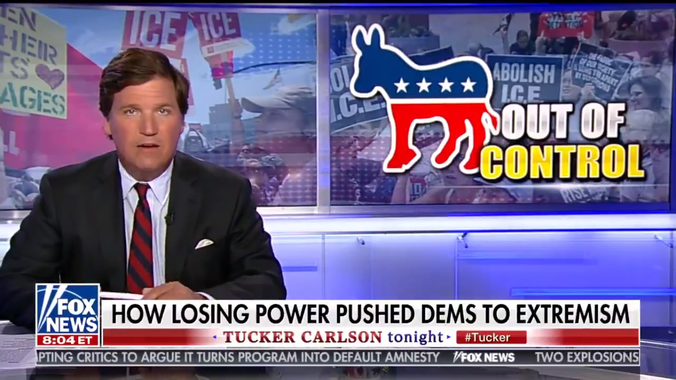 Tucker Carlson: Democrats Are Using Immigration To Plot A 'Coup' And Seize Power