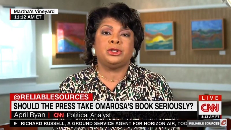 April Ryan On 'Evil' Omarosa: Trump Created This Monster And The Monster Has 'Come Back To Bite Him'
