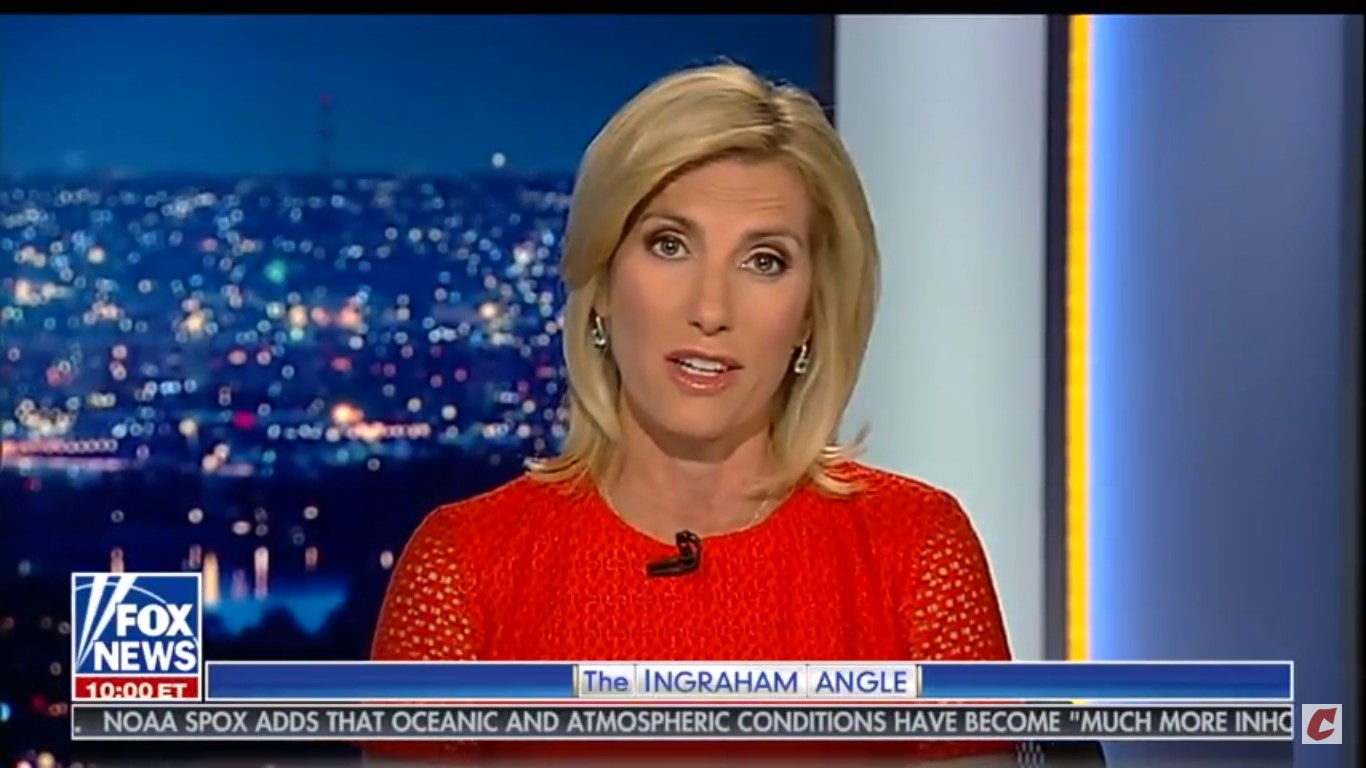 Laura Ingraham Reacts To Firestorm Over Her 'Demographic' Remarks: 'Nothing To Do With Race'