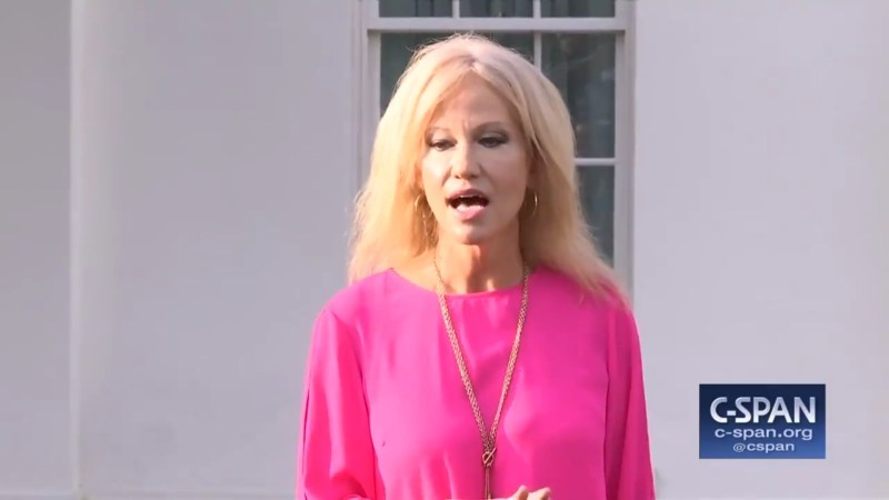 Kellyanne Conway: 'It's Kind Of Weird' How Everyone's Obsessed With The President