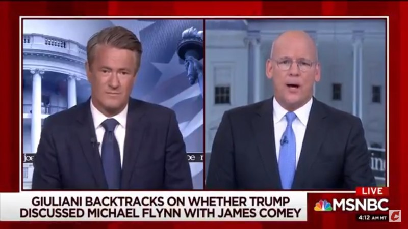 Joe Scarborough Goes There With Rudy Giuliani: 'Does He Have Early Onset Of Dementia?'