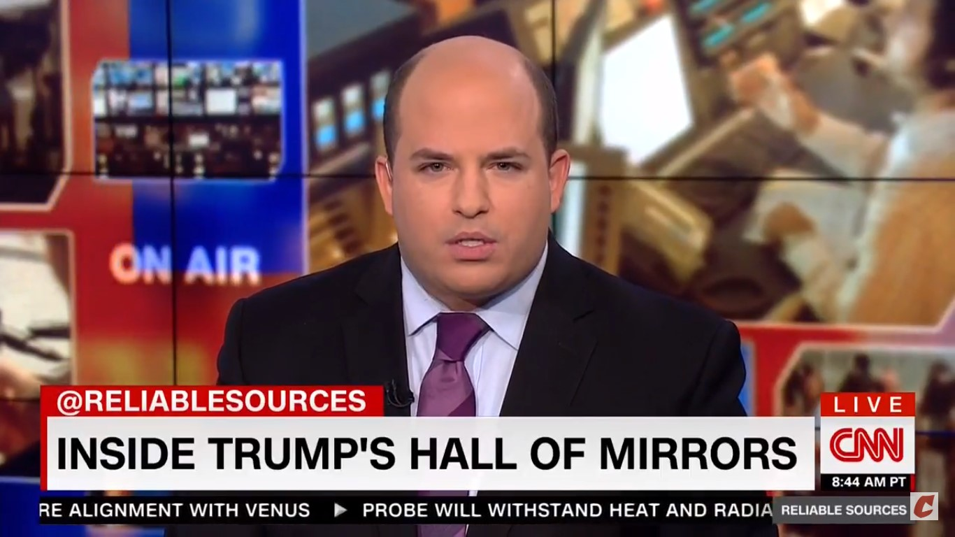 CNN's Stelter On Trump Legal Team Guest-Hosting Hannity: 'This Would Be Funny If It Weren't So Serious'