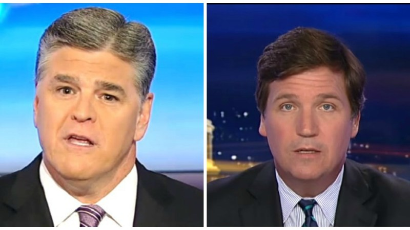 Hannity and Tucker Dominate Wednesday's Ratings, Maddow Drops to Fifth in Key Demo