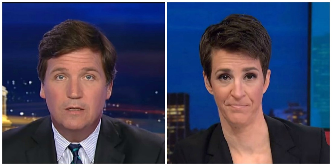 Tucker Beats Maddow On Wednesday Night, Hannity Delivers Dominant Performance