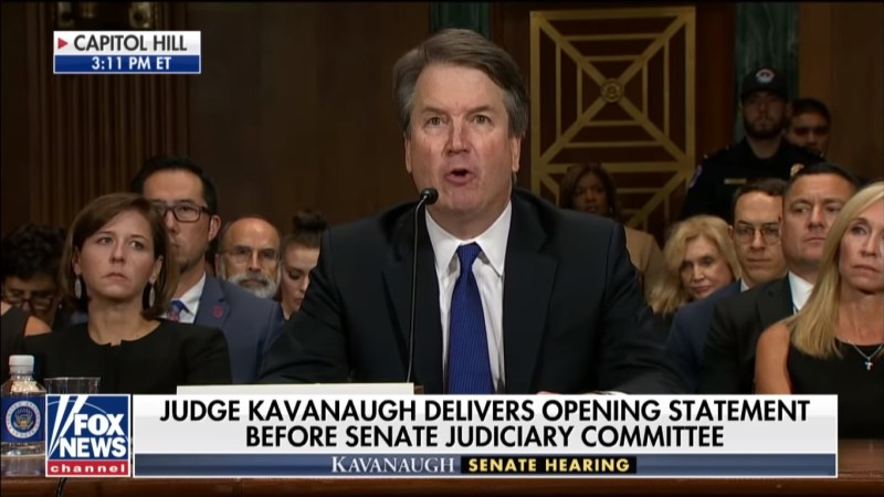 Fox News Pulls In Huge Ratings For Kavanaugh Hearing, Outdraws CNN And MSNBC Combined