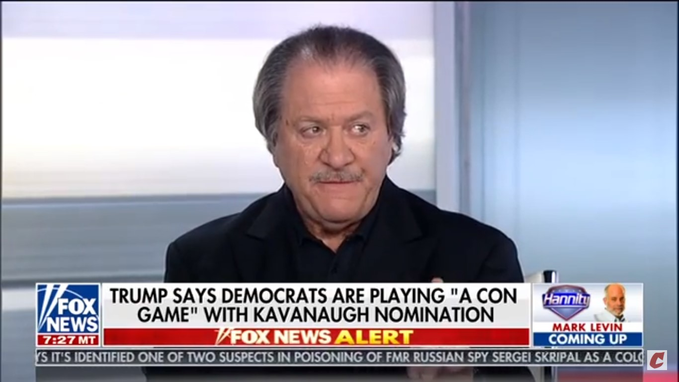 Joe diGenova: Mazie Hirono Should 'Shut Up,' Ford's Allegations Are 'Figment Of Her Imagination'