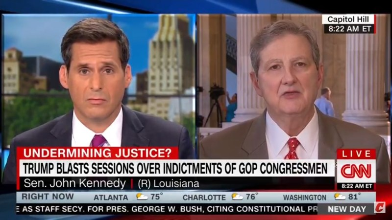 Sen. Kennedy Shrugs Off Trump's Complaint Over GOP Indictments: I Don't Have Oversight Of His Tweets