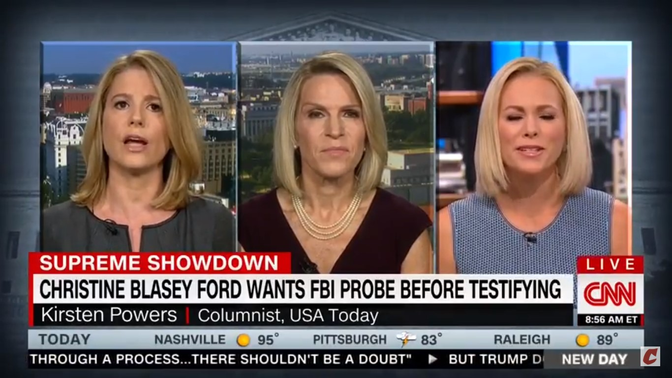 CNN's Kirsten Powers Accuses Margaret Hoover Of 'Smearing' Christine Ford In Heated Exchange