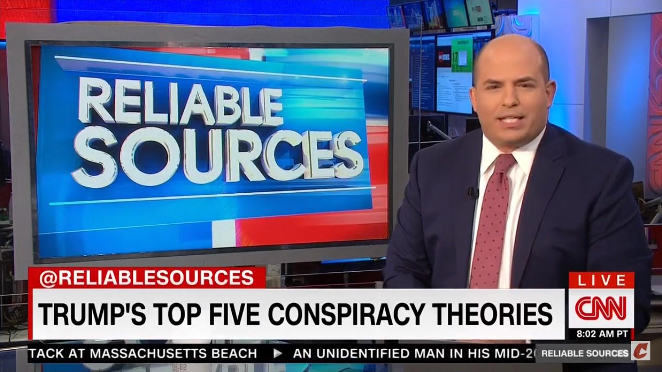 CNN's Stelter: 'Trump World Embraces Conspiracy Theories Because The Truth Is Not On' Trump's Side