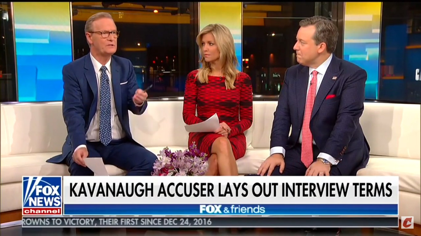 Fox & Friends' Steve Doocy Touts Ed Whelan's Crazy Mistaken Identity Conspiracy Theory