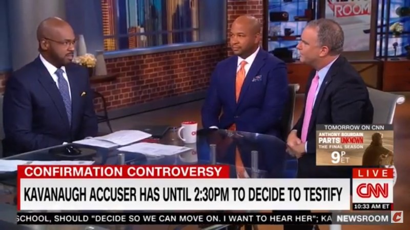 CNN Anchor Flabbergasted Over GOP Strategist Saying Sexual Assault Shouldn't Disqualify Kavanaugh