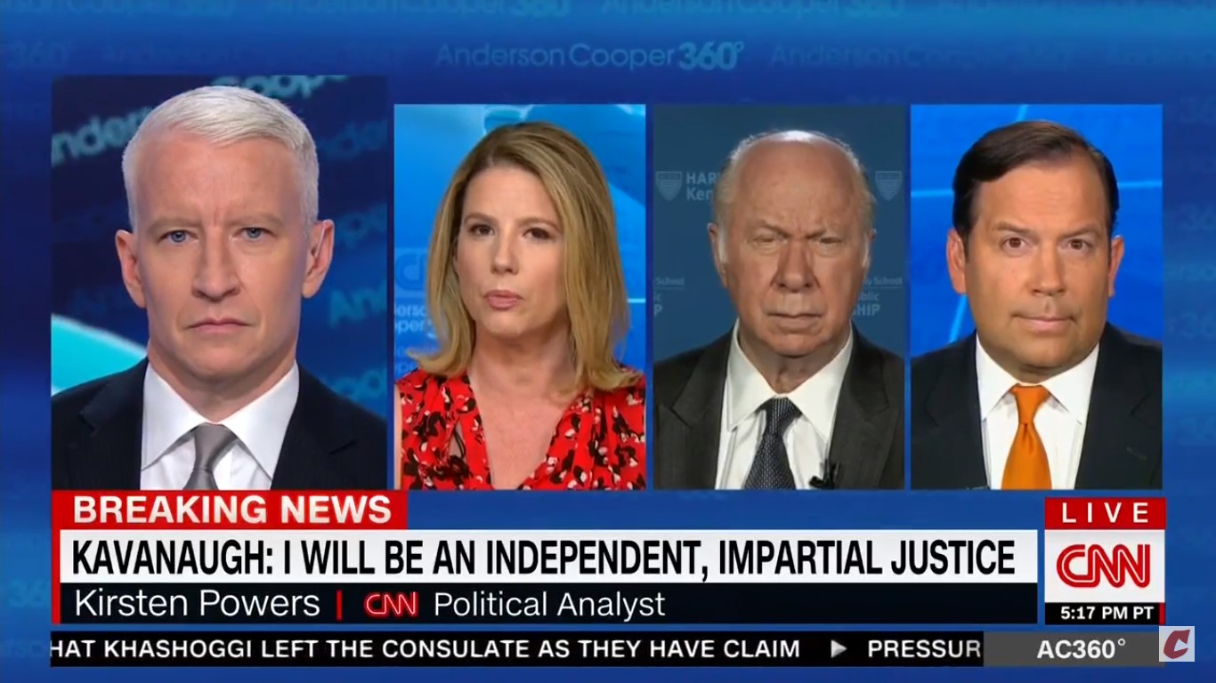 CNN's Kirsten Powers Reminds Steve Cortes Of His Actual Stance On Peaceful Protests